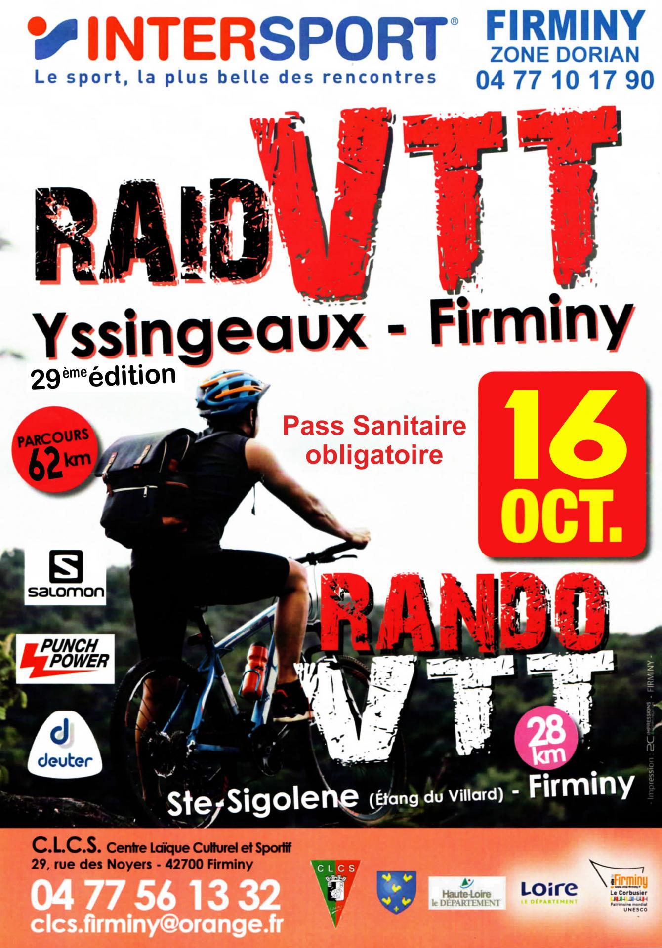 Mini flyer raid vtt